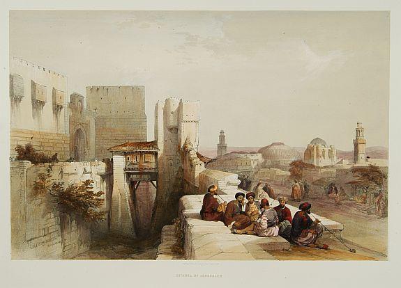 ROBERTS,D. - Citadel of Jerusalem.