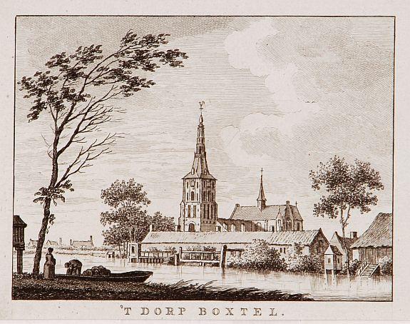 BULTHUIS, J. -  't dorp Boxtel.