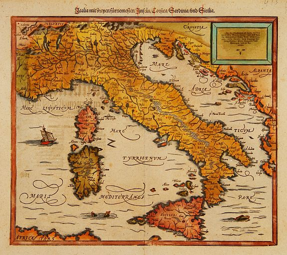 Old map by MÜNSTER -Italia mit zeijnen furnemesten Inseln Corsica Old World Map Of Italy on ancient maps of italy, cumae italy, online map venice italy, old map of florence italy, old maps prints, old style map of italy, old material, early people of italy, old naples italy, old world maps murals, old world cartography, old world style fabric, detailed map florence italy, towns in bari italy, old world rome, historical maps of italy, printable map italy, 13th century italy, old world italian, tunisia italy,