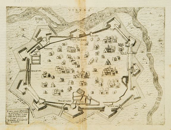 maps of austria. Old map by FURLANI,P.