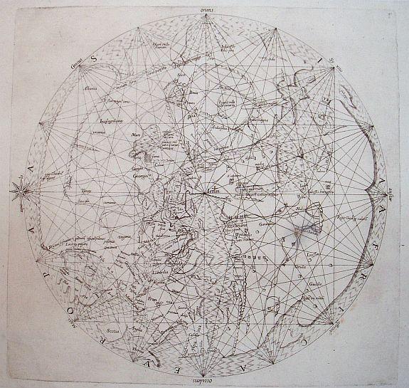 SANUDO, M. - Untitled world map
