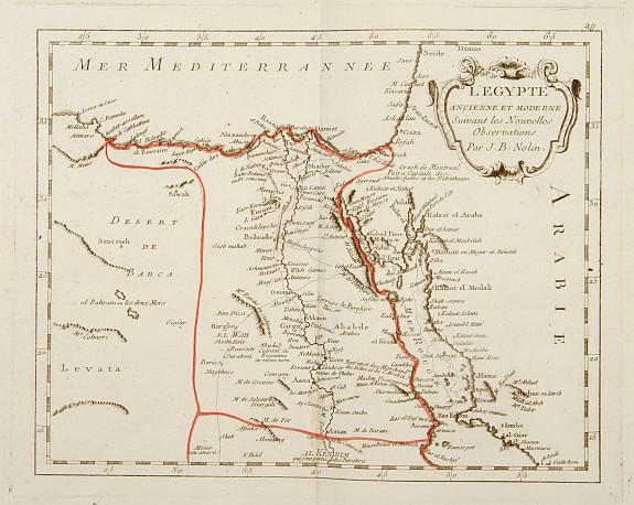 MONDHARE / NOLIN, J.B. -  L'Egypte Ancienne et Moderne..