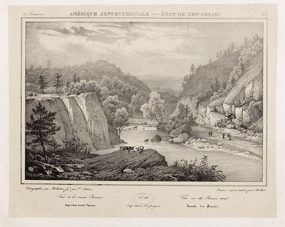 MILBERT, J. -  View on the Passaic river.