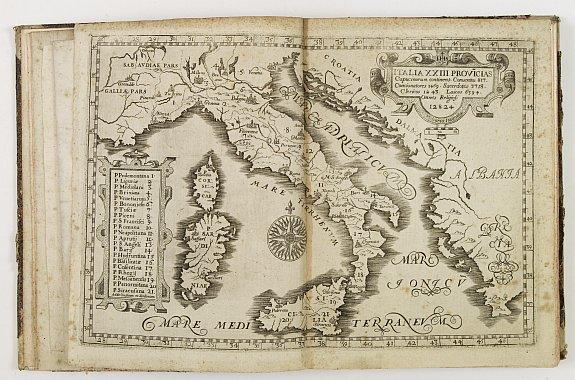 MONTECALERIO, Ioannis. A / GUCHEN, Maximus. -  Chorographica descriptio provinciarum, et conventum fratrum minorum S. Francisci Capucinorum…