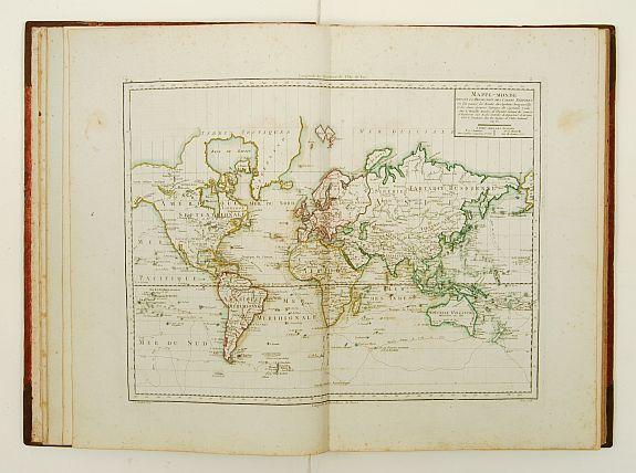 MENTELLE,E. - Atlas élémentaire de géographie physique et politique, ancienne et moderne,