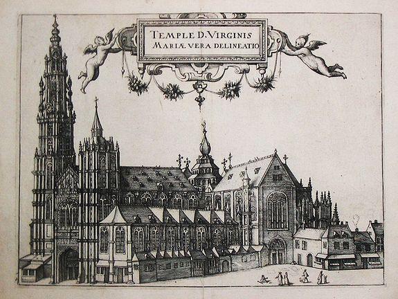 Guicciardini, L. - Temple D. Virginis Mariae vera delineatio.