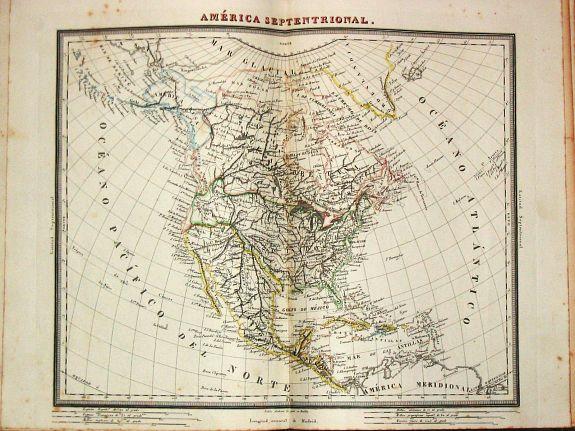 Tardieu, A. - Atlas Geográfico Universal.