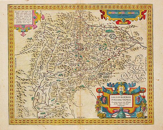 Ortelius, A. - Salisburgensis Iurisdictionis