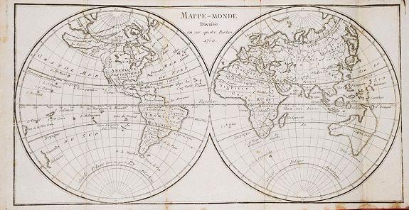 VOSGIEN - Dictionaire Géographique Universel, ou Description des Royaumes, Provinces, Villes... etc.