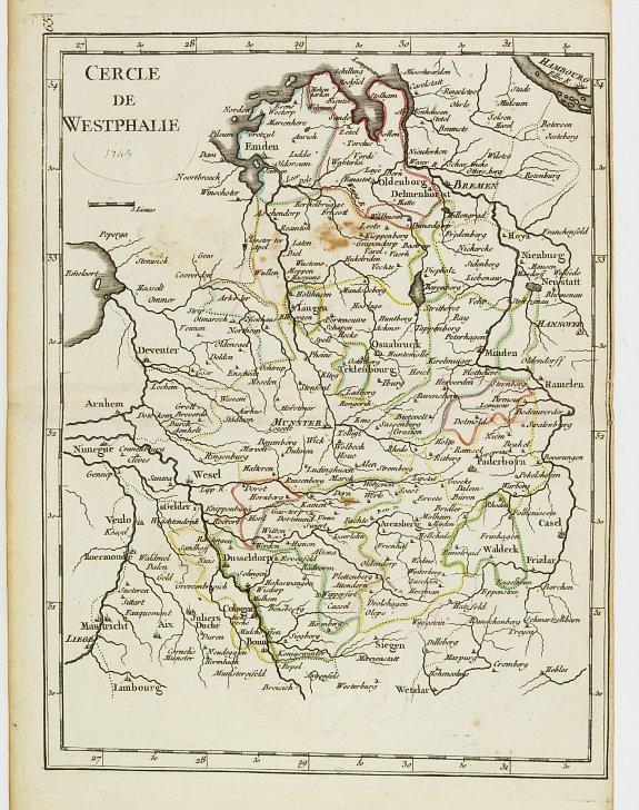 LE ROUGE, G.L. -  Cercle de Westphalie.