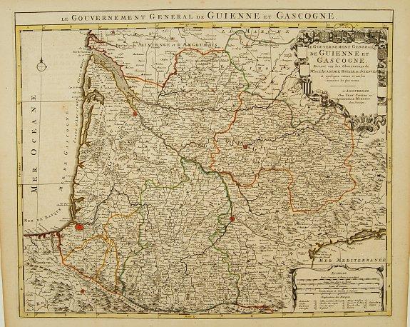 COVENS, J. / MORTIER, C. -  Le Gouvernement General de Guienne et Gascogne.