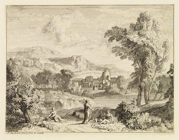 RYSBRACK,P. - [Arcadian Landscape]