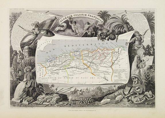 LEVASSEUR,V. -  Algerie Colonie Française.