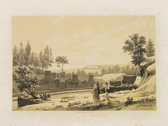 BILLMARK, C.J. -  La Rue des Tombeaux à Pompeia.