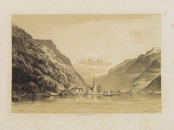 BILLMARK, C.J. -  Fluelen (Suisse, lac des Quatre Cantons).