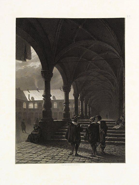 BILLMARK, C.J. -  Palais du Primat à Liège.
