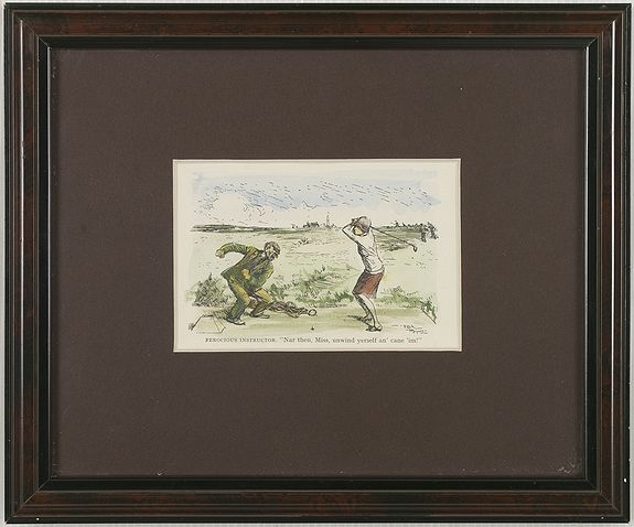KNOX, E.V. -  Mr. Punch on the Links.
