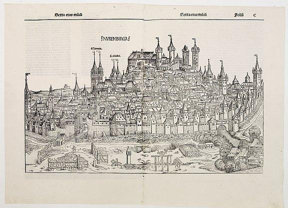 SCHEDEL, H. - Nuremberga.