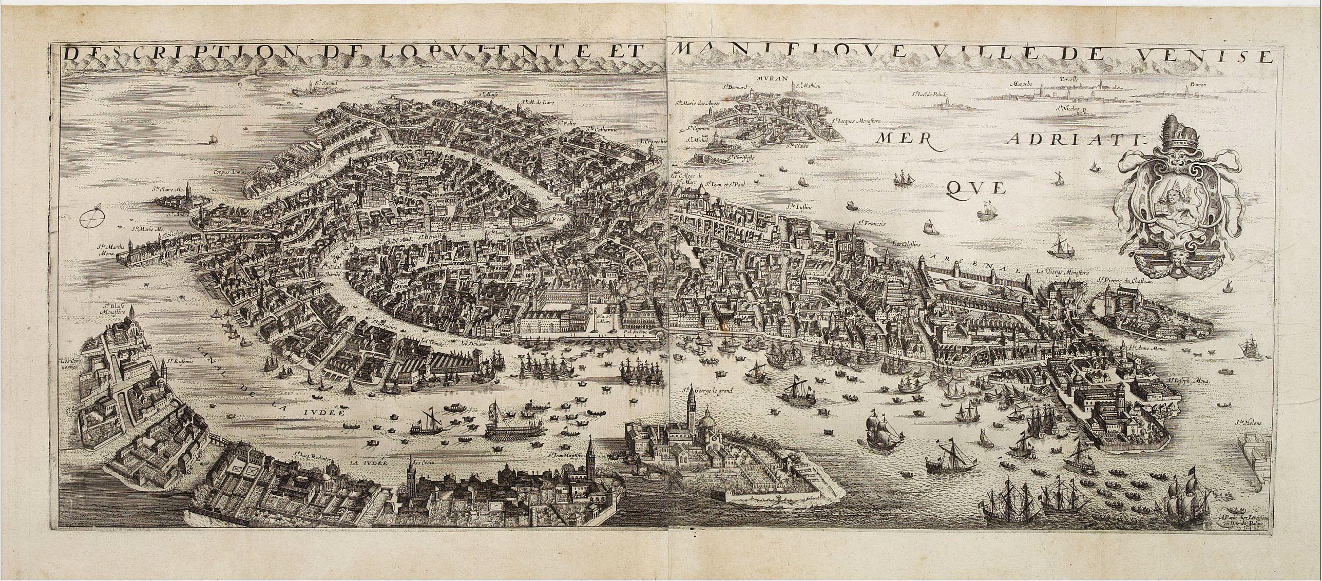 BOISSEAU, J. -  Desciption de lopulente et manifique ville de Venise.