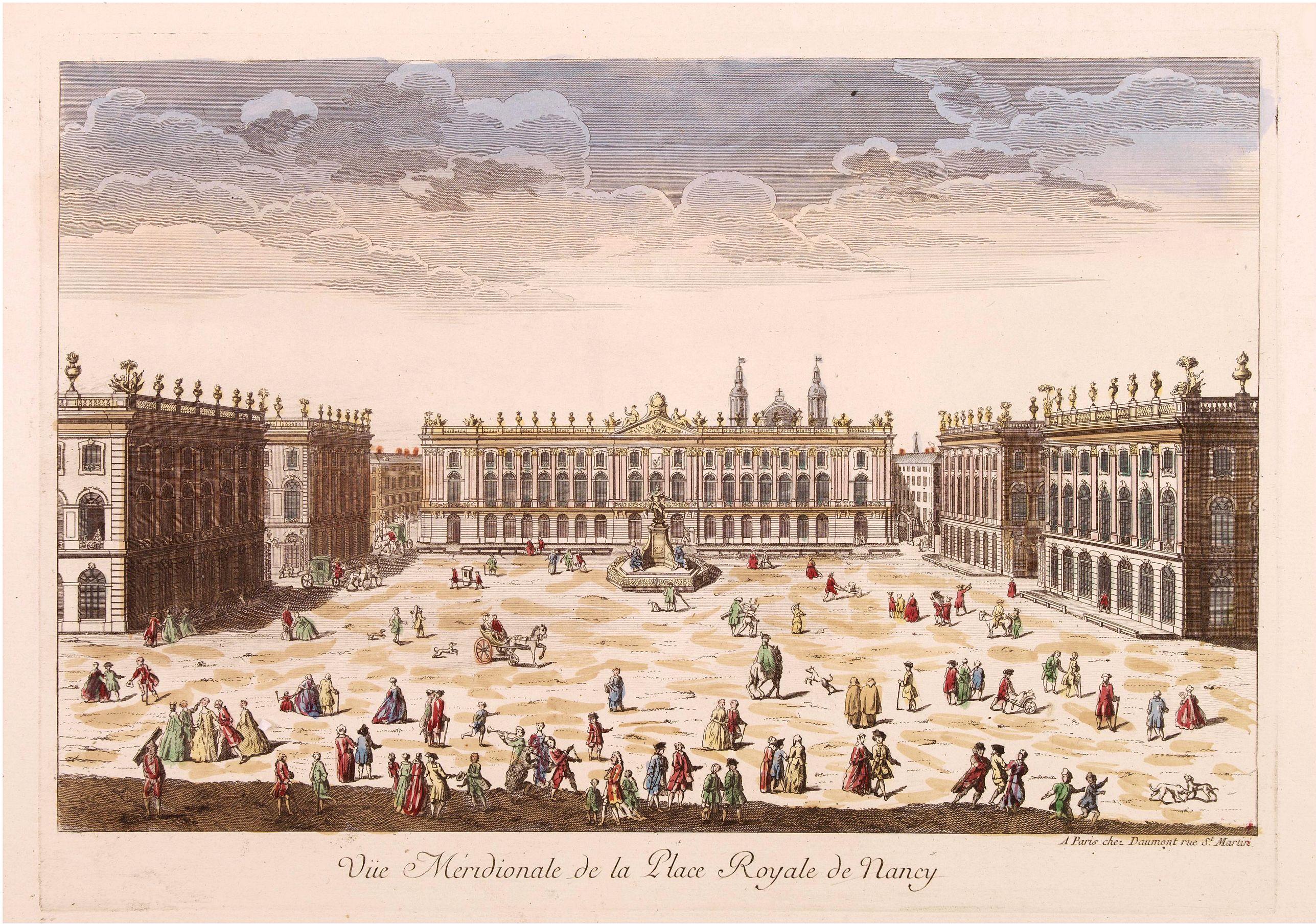 Три Королевские площади. Часть I.