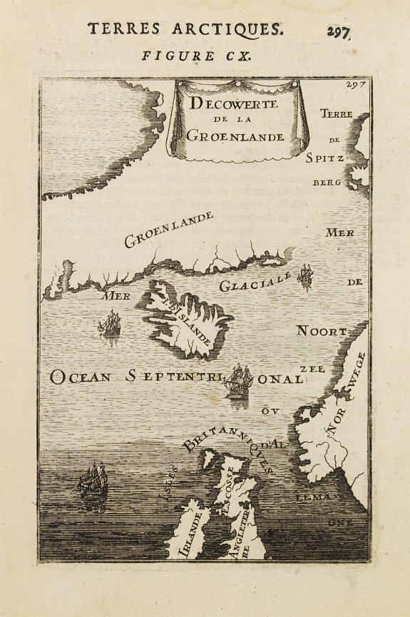 MALLET, A.M. -  Decouverte de la Groenlande.