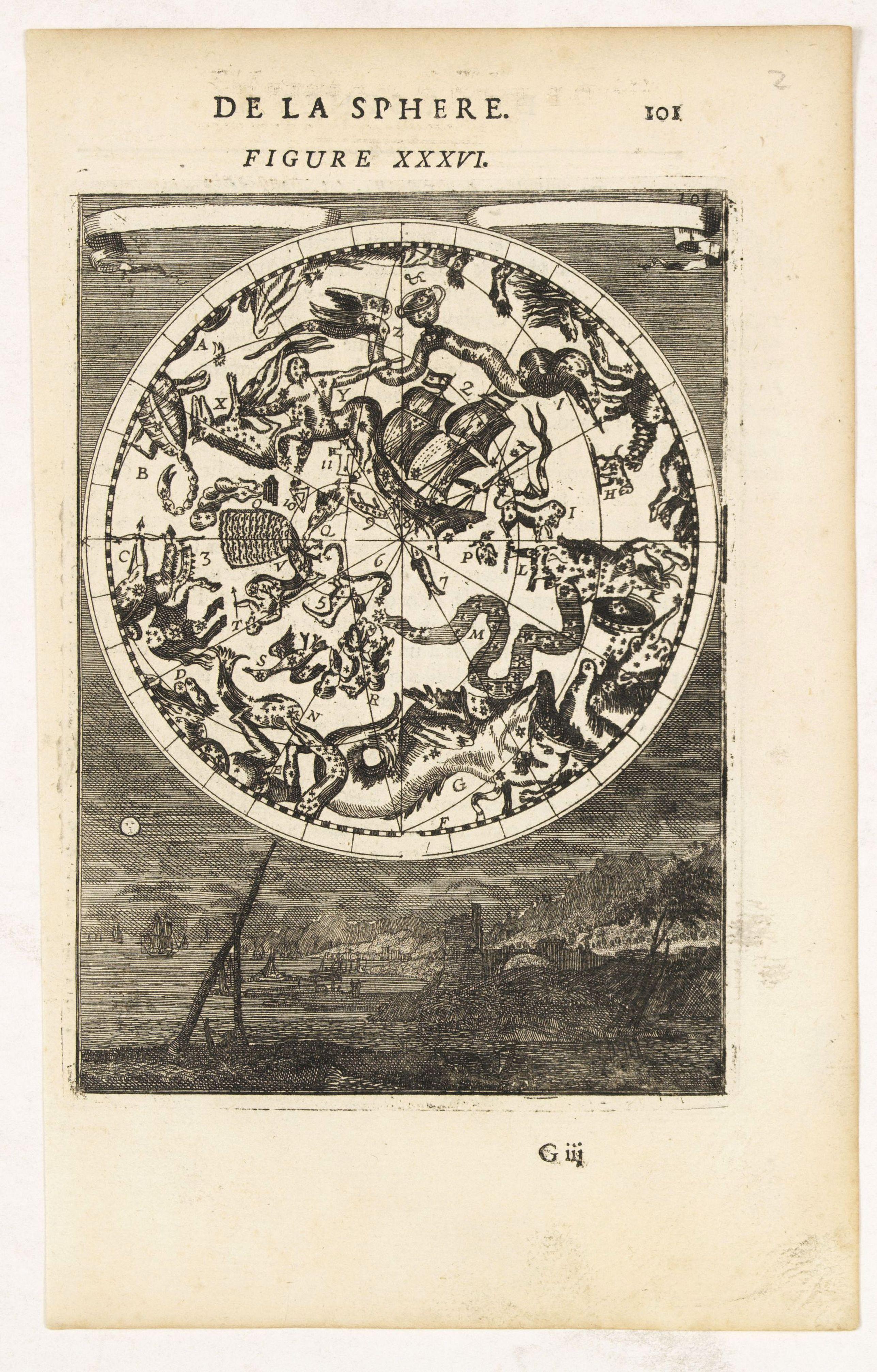 MALLET, A.M. -  DE LA SPHERE. Figure XXXVI.