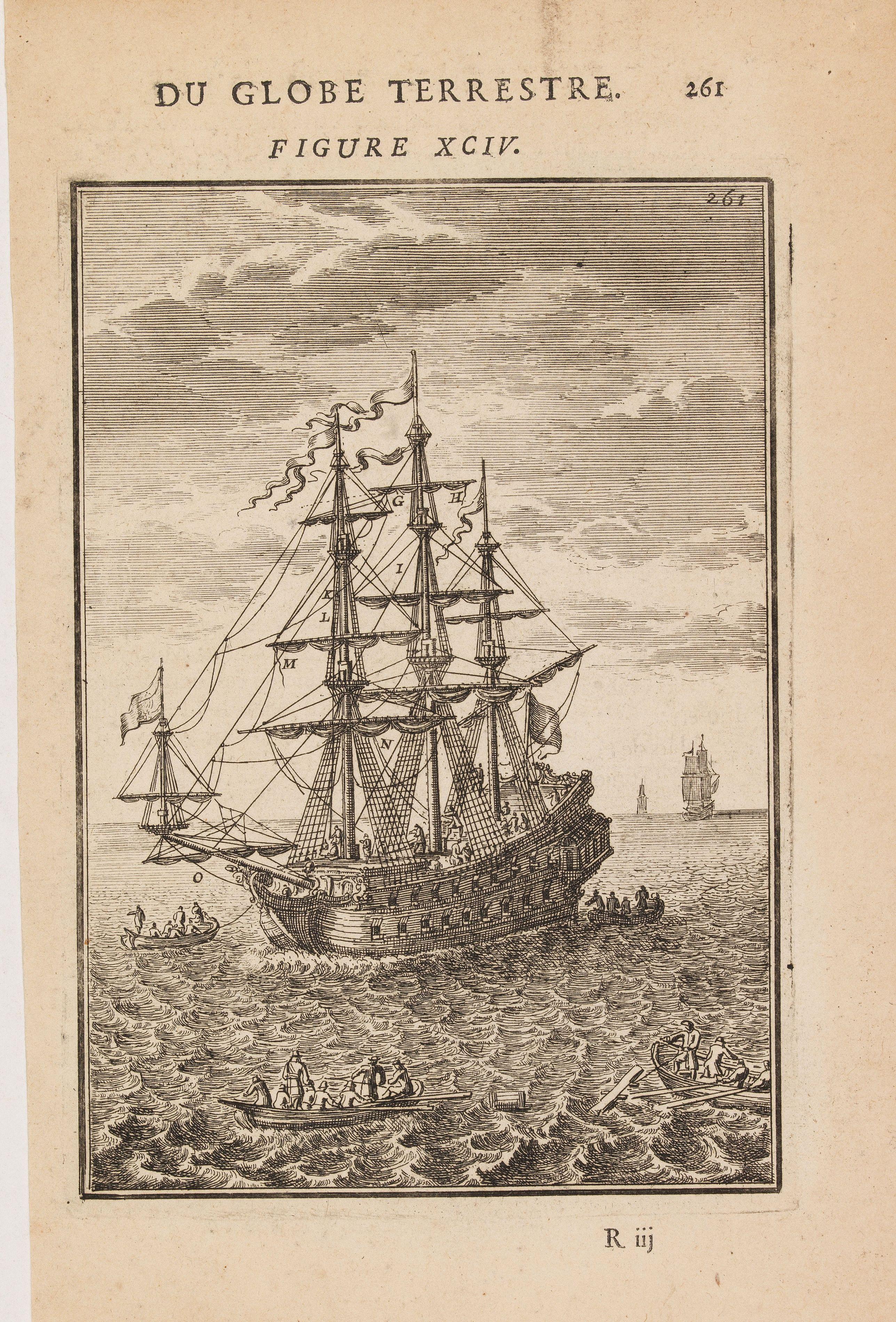 MALLET, A.M. -  (Shipping - Noms des principales Voiles d'un Navire)