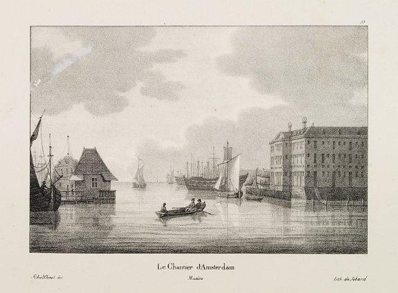 DE CLOET / MADOU, J-B. -  Le Chantier d'Amsterdam.