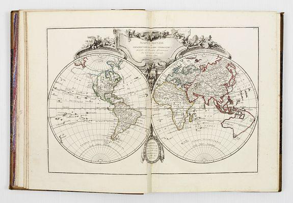 LATTRE / RIZZI ZANONI / JANVIER -   Atlas moderne ou collection de cartes sur toutes les parties du globe terrestre par plusieurs auteurs.