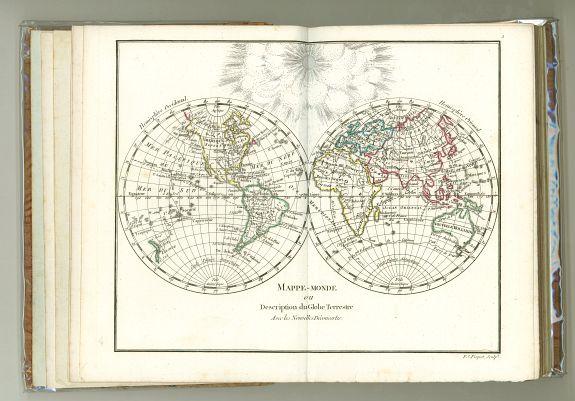 DELAMARCHE - Petit Atlas moderne ou collection de cartes élémentaires dédié à la jeunesse.
