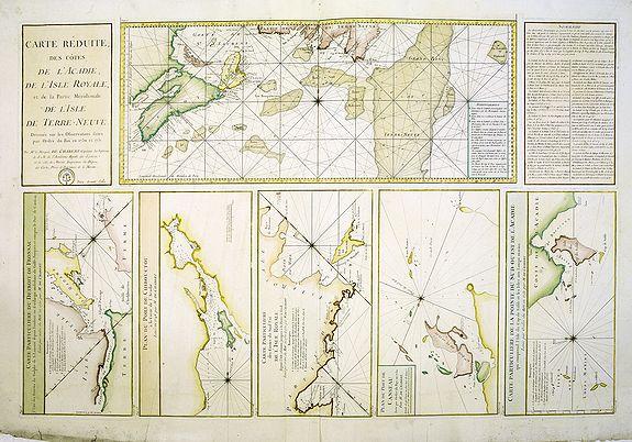 D�P�T G�N�RAL DE LA MARINE -  Carte R�duite, Des C�tes De L