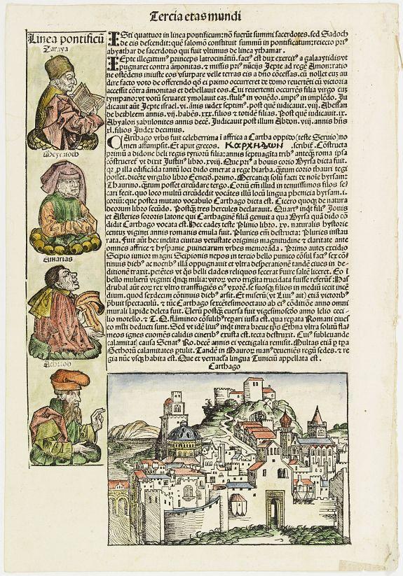 SCHEDEL, H. -  Carthage, etc.