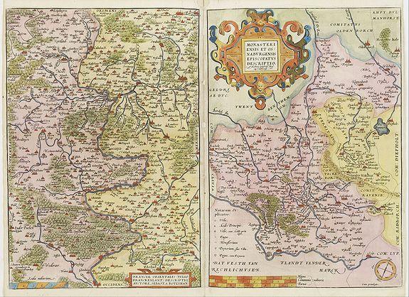 ORTELIUS,A./ GALLE,T. -  Franciae orientalis../  Monasteriensis et osnaburgensis..