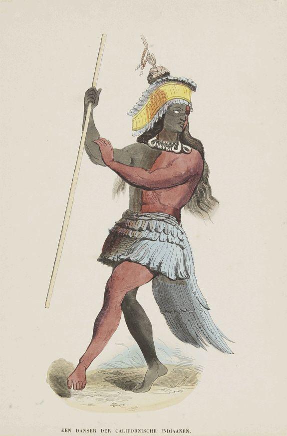 ANONYMOUS -  Een Danser der Californische Indiaanen.