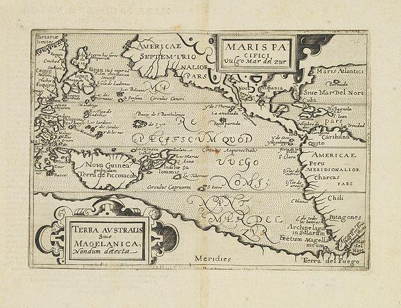 METELLUS, J. -  Maris Pacifici vulgo Mar del Zur.