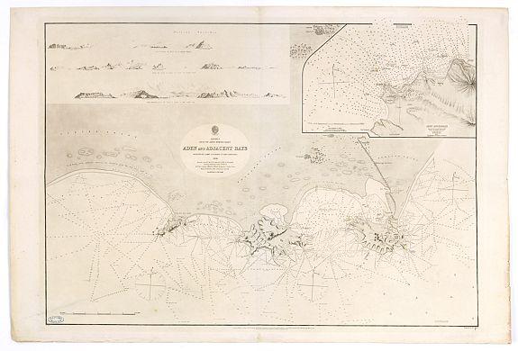 HYDROGRAPHIC OFFICE -  Arabia. Gulf of Aden - North Coast. Aden and Adjacent Bays..