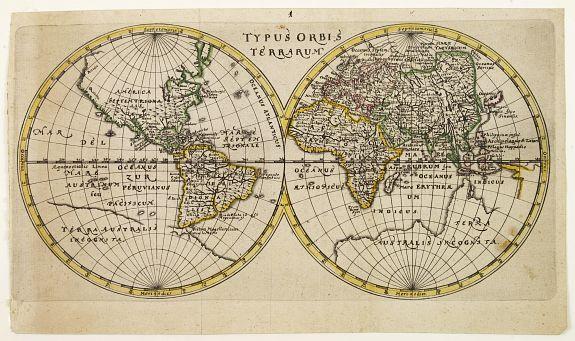 BUNONIS,J. - Typus Orbis Terrarum.