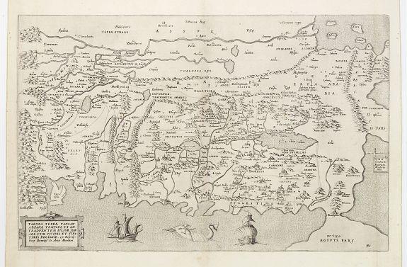 ARIAS MONTANUS,B. -  Tabula Terrae Canaan Abrahae tempore et ante adventum…