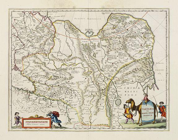 BLAEU, W. -  Tartaria sive Magni Chami imperium.