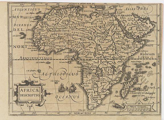 MERCATOR, G./ HONDIUS, J. -  Africae Descriptio.