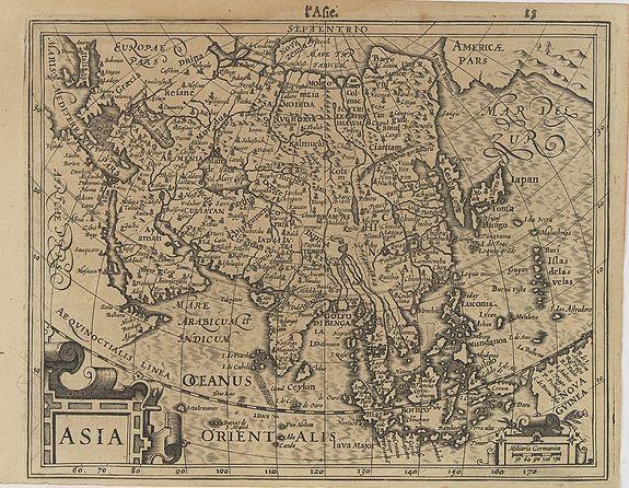 MERCATOR,G./ HONDIUS,J. -  Asia.