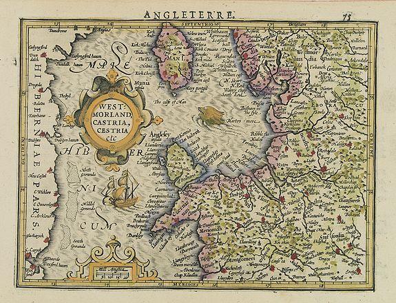 MERCATOR, G. / HONDIUS, J. -  West:morland, Castria, Cestria etc.