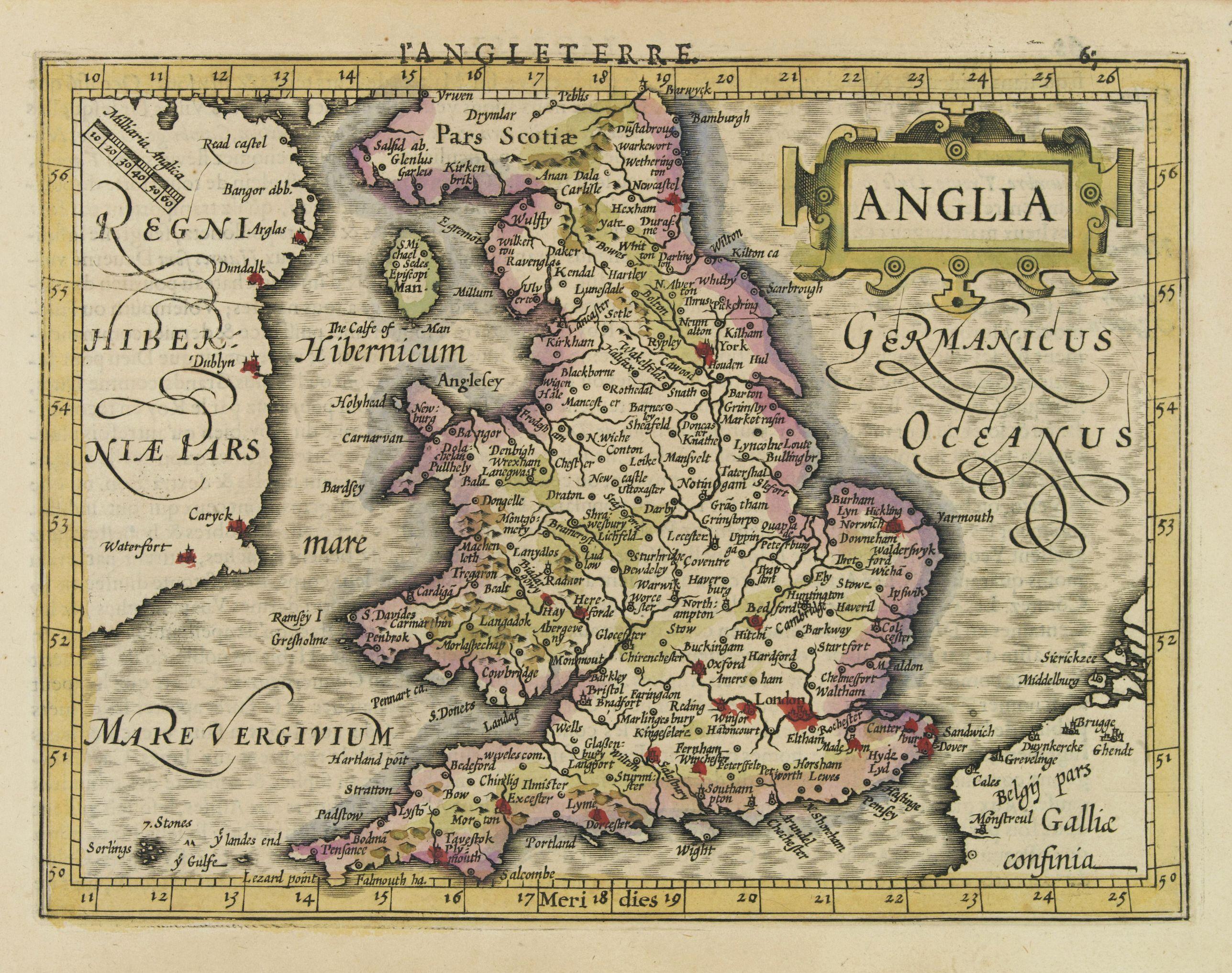MERCATOR, G. / HONDIUS, J. -  Anglia.