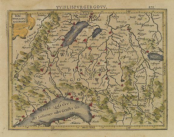 MERCATOR, G. / HONDIUS, J. -  Das Wiflispurgergou.