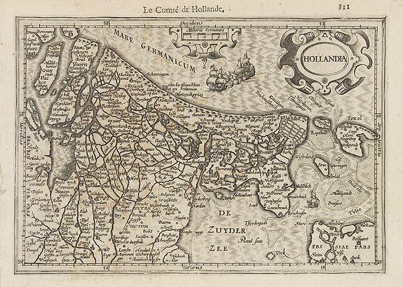 MERCATOR, G./ HONDIUS, J. -  Hollandia.