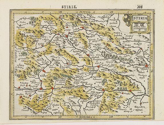 MERCATOR, G. / HONDIUS, J. -  Stiria.
