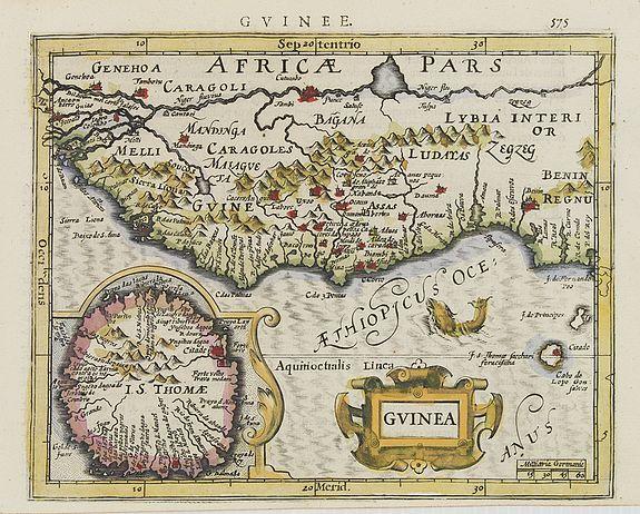 MERCATOR, G. / HONDIUS, J. -  Guinea.