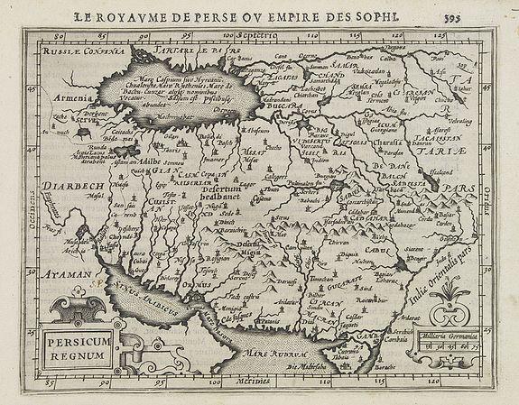 MERCATOR, G. / HONDIUS, J. -  Persicum Regnum.