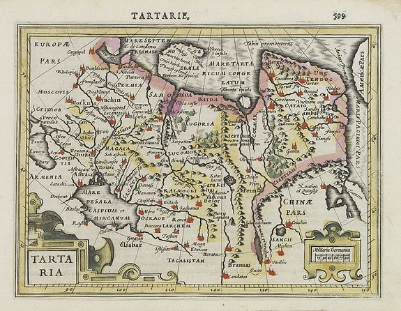MERCATOR, G. / HONDIUS, J. -  Tartaria.
