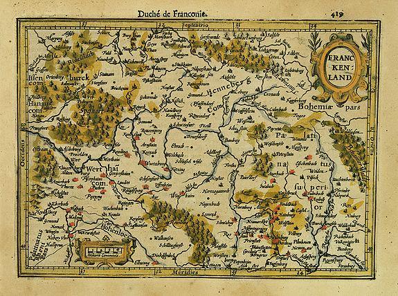 MERCATOR,G./ HONDIUS,J. -  Franckenland.